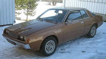 Den brune 1978-modellen har vært i Stein Oves eie helt siden 1993. Og kanskje er det nettopp den bilen han så i Stjørdal i 1980, som gjorde at han fikk lyst på nettopp en slik bil. Foto: Privat