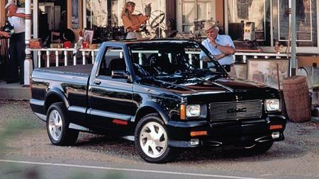 1991 GMC Syclone. Foto: GM