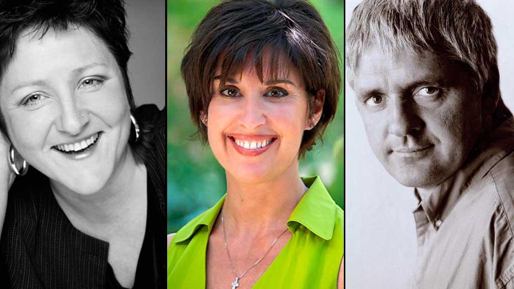 Forfatterne Anne B. Ragde, Cecilia Samartin og Kjell Ola Dahl tipser om gode bøker.