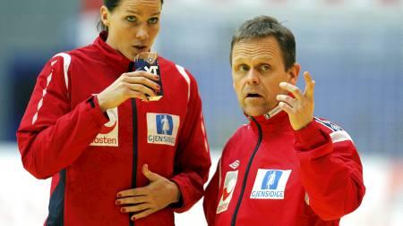 IKKE MED: Gro Hammerseng har vært en sentral figur på landslaget de siste årene, men i VM i Brasil må Norge klare seg uten hennes hjelp og lederegenskaper. (Foto: Kallestad, Gorm/Scanpix)