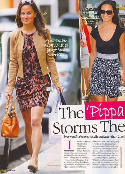 VESKE: Pippa-vesken har fått enorm oppmerksomhet. Her i bladet Look 20.juni 2011. (Foto: Faksimile Look)