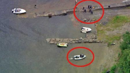 Utøya beredskapstroppen Delta (Foto: TV 2)