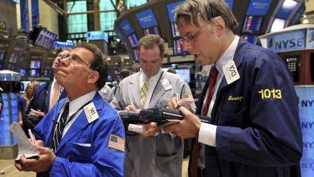 Børs Dow Jones (Foto: STAN HONDA/Afp)