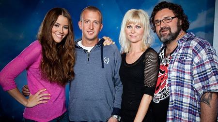 IDOL   2011: Marion Ravn, Gunnar Greve Pettersen, Bertine Zetlitz og Hans-Erik   Dyvik Husby utgjør årets Idol-jury på TV 2. (Foto: Roy Darvik)