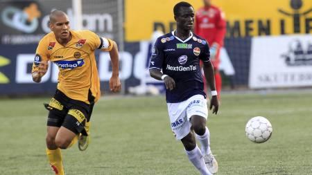 Godsetspiller Mohammed Abu er tatt ut til Ghana sitt landslag. (Foto: Bendiksby, Terje/Scanpix)