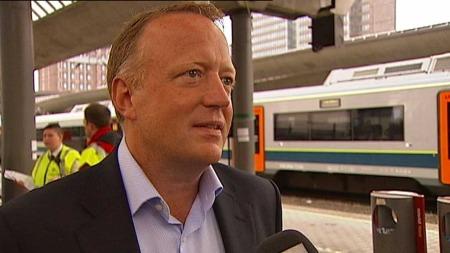 Harald Nikolaisen, utbyggingsdirektør i Jernbaneverket. (Foto: Tv 2)