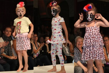 BARNEKOLLEKSJON: Little Cupcakes ble for første gang vist i 2010. Kolleksjonene er som skapt for små prinsesser med humor.