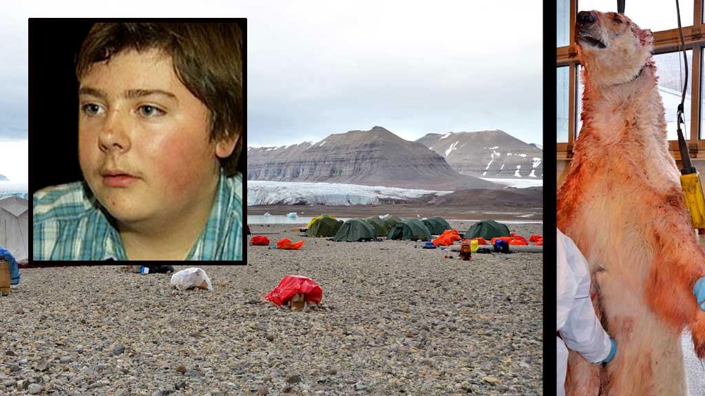 patrick flinders svalbard isbjørn (Foto: Montasje TV 2)