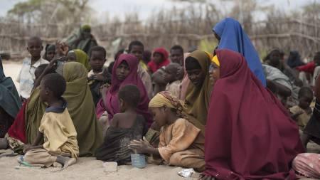 Somalia Kolera (Foto: PHIL MOORE/Afp)