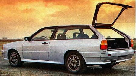 Audi quattro stv.
