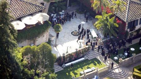 Kardashian-bryllup (Foto: Sasha-Lins/X17online.com)