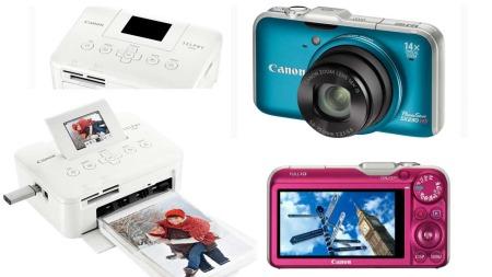 Ukens Premie: Canon Selphy CP800 Compact photoprinter og Canon PowerShot 230 HS med HD-film og GPS-minne.