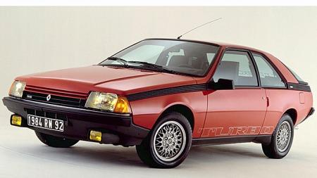 Fuego fantes i mange versjoner. Mest interessant er kanskje denne Turbo-versjonen fra 1984 - men da hadde nok Fuego-salget i Norge tørket ut for lenge siden. Foto: Renault