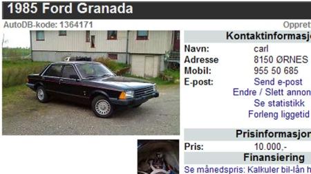 Ford-Granada-annonse