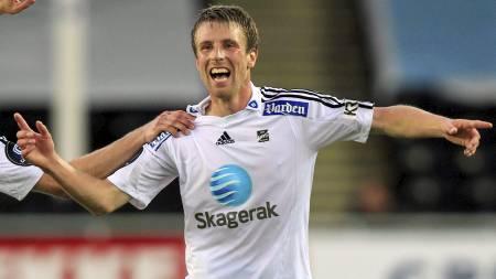 Håvard Storbæk håper på å bli matchvinner mot sin neste arbeidsgiver, Haugesund, på Skagerak Arena søndag. (Foto: Poppe, Cornelius/SCANPIX)