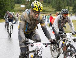 På Sjusjøen, under siste etappe ned mot Lillehammer i 2010.   (Foto: Berit Roald / Scanpix)
