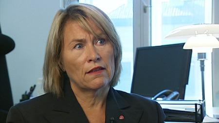 Forsvarsminister Grete Faremo (Ap). (Foto: TV 2 )