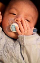 Monica og Kjetils sønn Isak Lorang kom til verden for 7 måneder   siden. Svangerskapet var langt enklere enn med førstefødte. (Foto: Privat   )