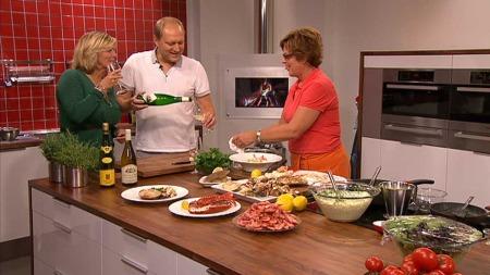 Hvilken vin bør du velge til skalldyr? (Foto: TV 2)