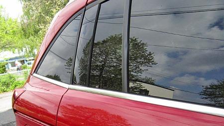 Det er denne vinkelen bak på bilen som virkelig er snodig. Gir Grand C-Max et veldig kantete uttrykk.