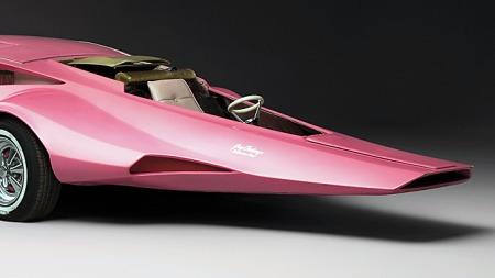 Jay Ohrbergs custombil-design har alltid vært kompromissløse. Noen har sett ut som en sko, andre som et ansikt. Fronten på
