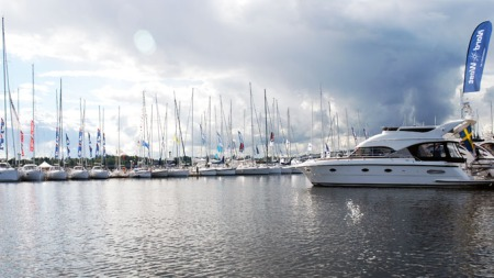 Nordens største, flytende båtmesse med 450 båter (Foto: Benny Christensen)