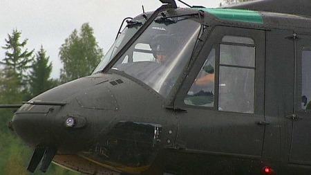 RINGTE DIREKTE TIL RYGGE: Helikoptermannskapene på Rygge og politiets beredskapstropp kjenner hverandre godt. (Foto: Tom Rune Orset)