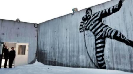 Halden fengsel er blant stedene Dolk har utsmykket.