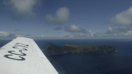 Dette arkivbildet viser Juan Fernándes-øyene. (Foto: MARTIN BERNETTI/Afp)