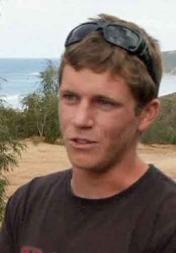 James Catterell var kamerat av haiofferet. Han snakket med ham en halvtime før det fatale angrepet. (Foto: AuBC)