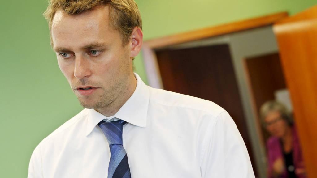 BRYTER ALLE BÅND: Olje- og energiminister Ola Borten Moe (Sp). (Foto: Larsen, Håkon Mosvold/SCANPIX)