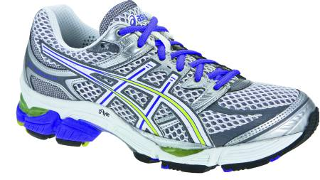 ASICS GEL-CUMULUS 13: Skoen er smidig og har god løpsfølelse. (Foto: Löplabbet/)