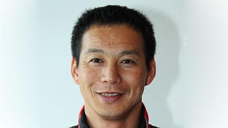 Testfører for Lexus Akira Iida har all grunn til å smile!
