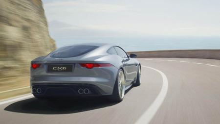 Jaguar C-X16 bakfra