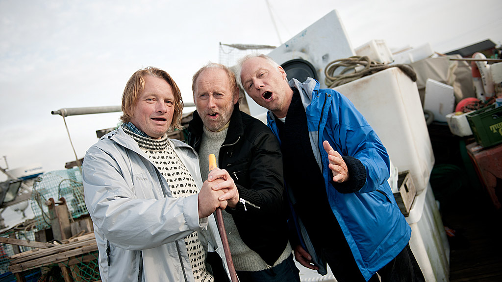 Jan Eggum, Halvdan Sivertsen og Øystein Dolmen. (Foto: www.vegardbreie.no)