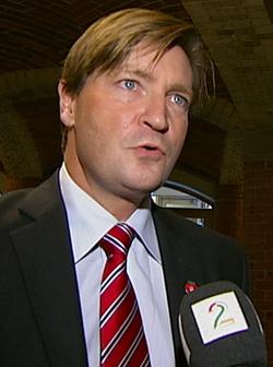 LAMBDA-MOTSTANDER: Christian Tybring-Gjedde. (Foto: TV 2)