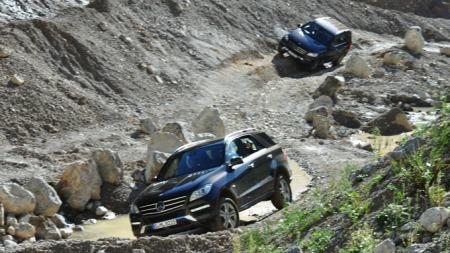 Det er ikke lett å finne terreng som stopper disse bilene.