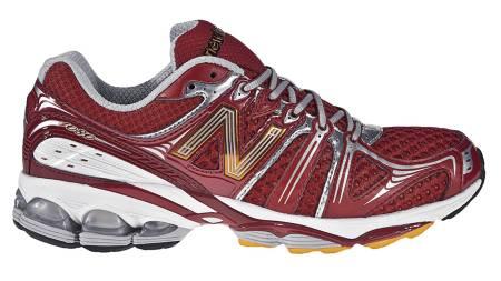 NEW BALANCE 1080: Skoen scorer høyt på demping og særlig i forfoten demper det godt. (Foto: Löplabbet/)