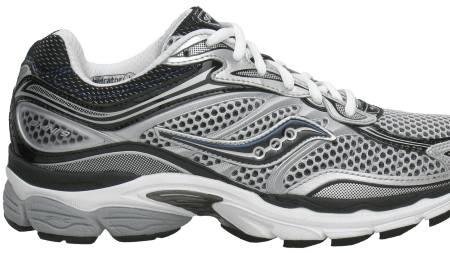 SAUCONY PROGRID ONNI 9: Ifølge testdeltakerne er løpsfølelsen på disse skoene gjennomsnittlig. (Foto: Löplabbet/)