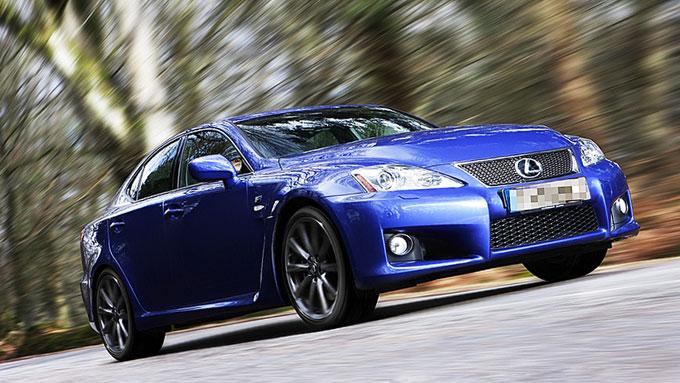 Lexus is220d Sport. Illustarsjonsbilde