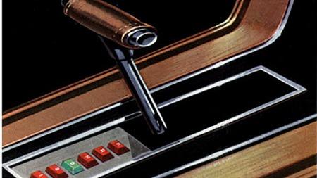 Etterhvert fikk Mustangen flere og flere lekre detaljer, og Fords lineære interiør-stil fra eksempelvis Thunderbird dukket også opp i Mustang - for den som var villig til å betale ekstra for konsoller og tilbehør. Foto fra 1968-brosjyren.