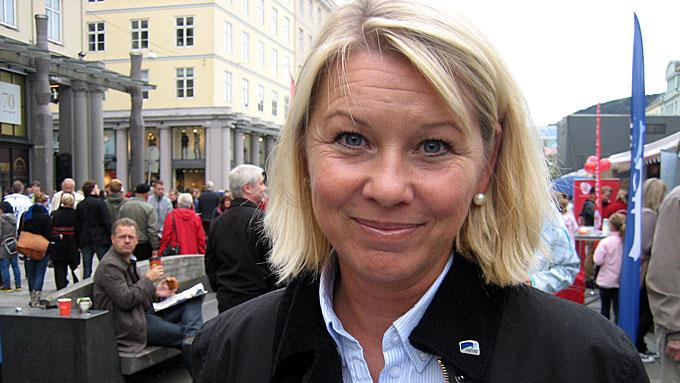 Monica Mæland (Foto: Ingvil Teige Stiegler/ TV 2)