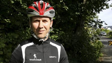 SPORTY-EKSPERT: Atle Kvålsvoll er TV 2 Sportys sykkelekspert. (Foto: Eivind Pettersen/TV 2/)