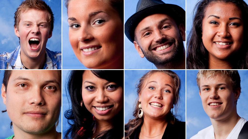 Disse Idol-deltakerne synger i første semifinale (Foto: Thomas Reisæter/TV 2)