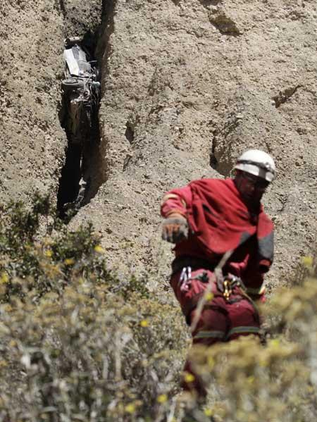 boliviansk farlig vei
