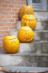31. oktober er det Halloween. Mange finner glede i å pynte litt ekstra i huset også på høsten.  (Foto: Illustrasjonsfoto)
