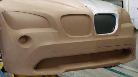 Kanskje vil fronten på den nye SUV-en spille på utseendet til BMW X1?