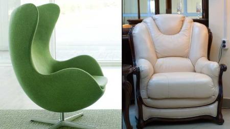 Moderne stol eller en klassisk stol? Hva synes du er finest?   (Foto: Illustrasjonsfoto)