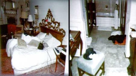 Michael Jacksons soverom og bad (Foto: AP)