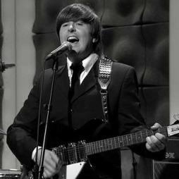 Paul Tudhope er vokalist i tributebandet The Cavern Beatles. (Foto: God morgen Norge)